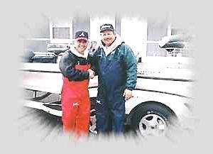 Andy Sampson and Leonard Rainey