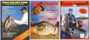 Fishing Magazine Covers with David Vance