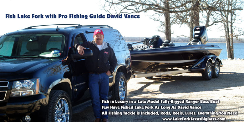 Lake Fork Bass Fishing Guide