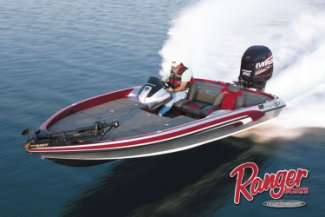 Ranger Bass Boats are #1 on Lake Fork